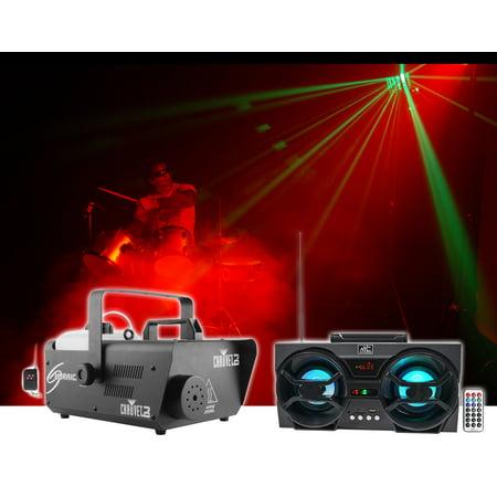 Chauvet DJ H1600 Hurricane 1600 DMX Fog Machine+Remote Timer + Free Speaker !