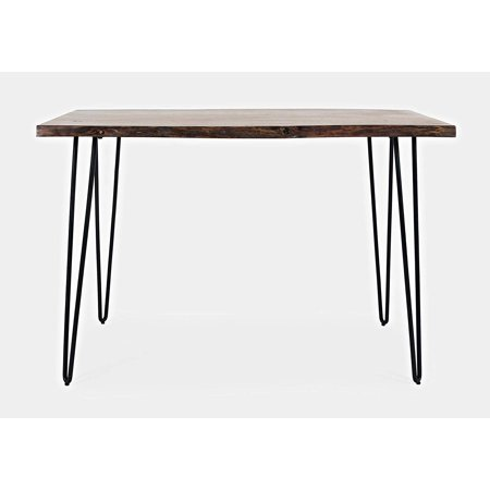 Nature's Edge 52 Solid Acacia Counter Height Dining Table