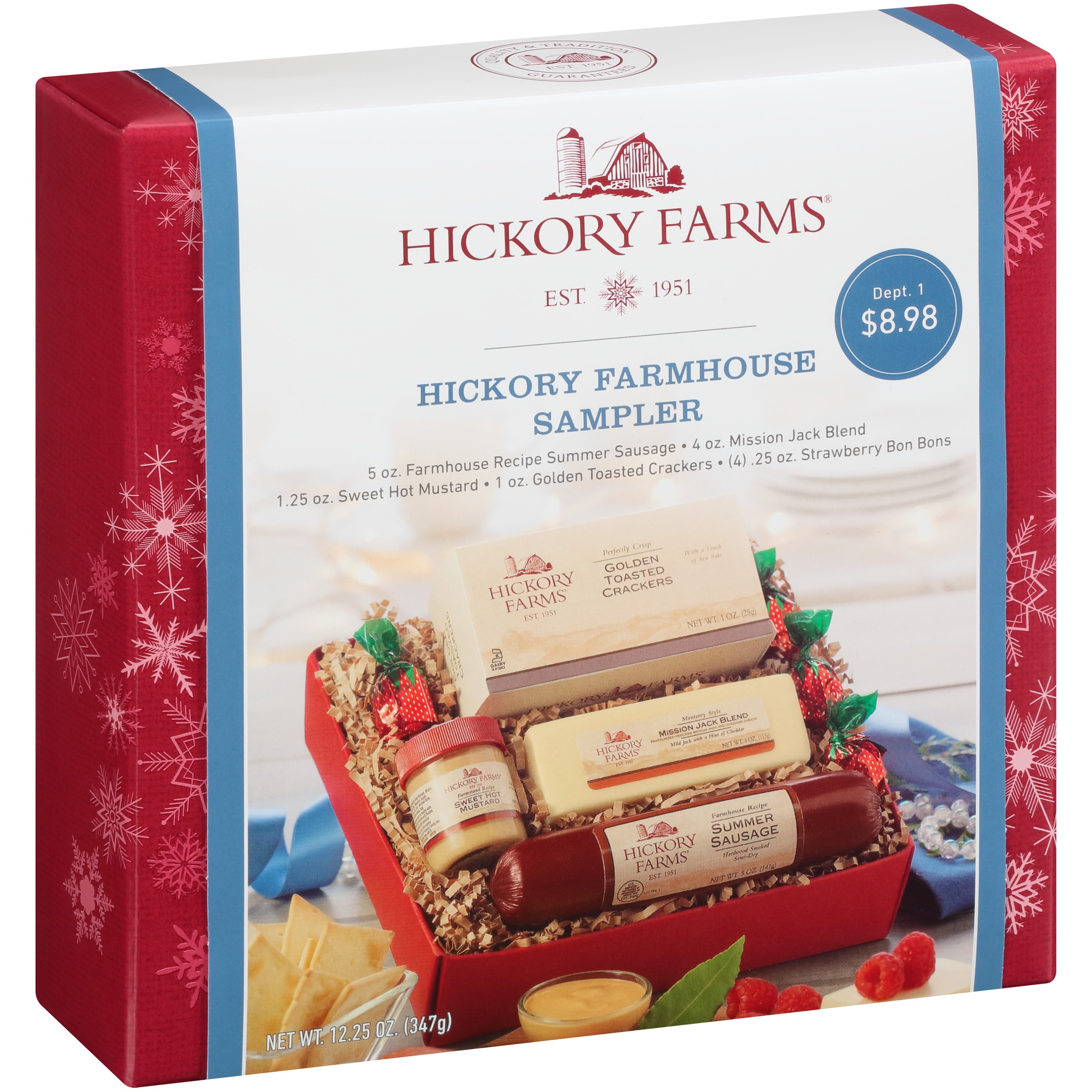 Hickory Farms® Farmhouse Super Bowl Sampler Box