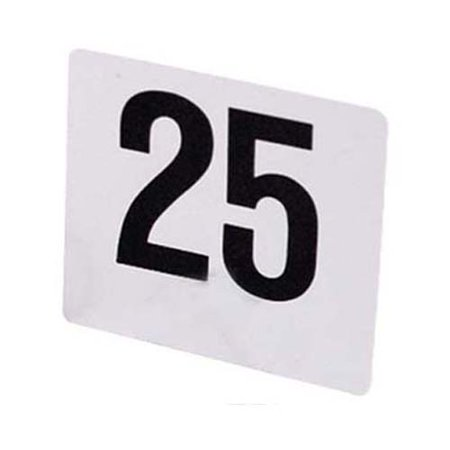 Table Numbers Plastic, 1 Set 1 through 50](Table Number)