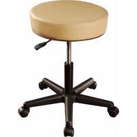 MT Massage Pneumatic Rolling Massage Stool, Beige