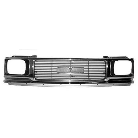 Chrome Grill Assembly for GMC Jimmy, S15 Jimmy, Sonoma Grille GM1200346