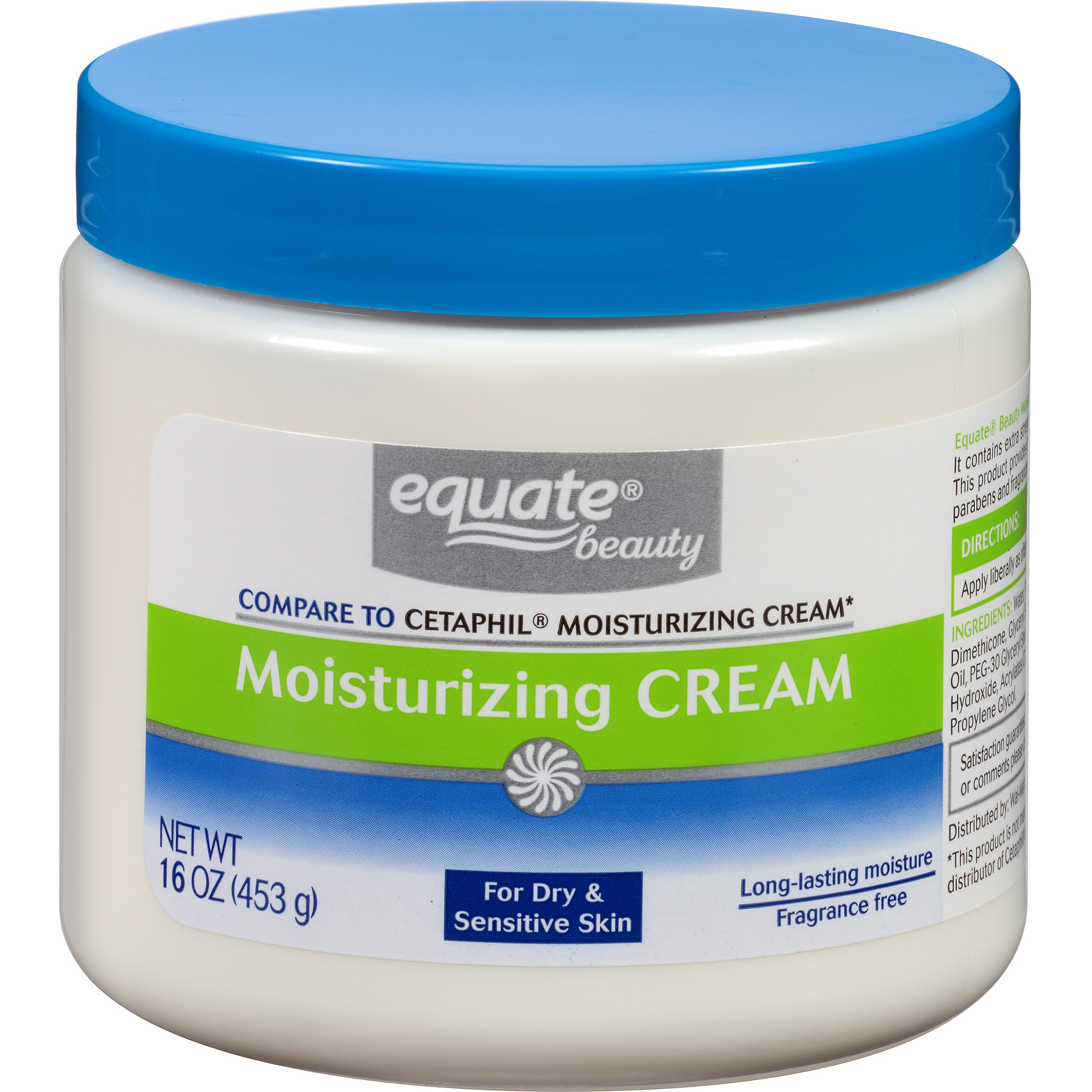 Equate Beauty Moisturizing Cream, 16 oz