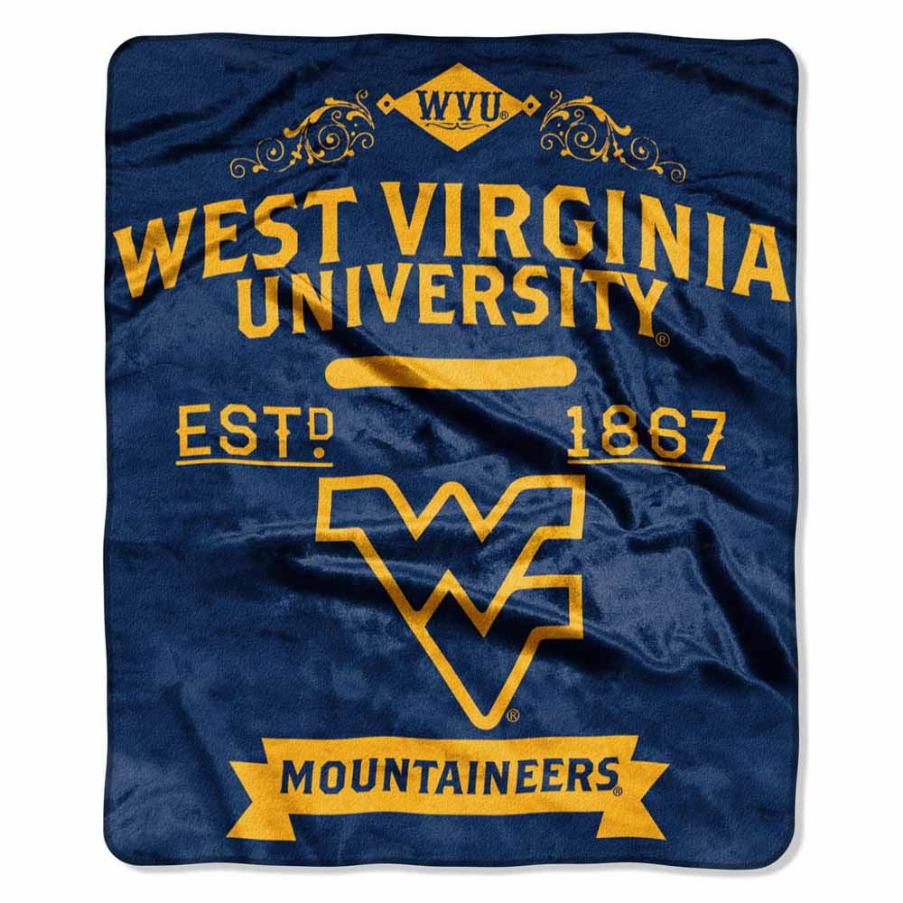 West Virginia Plush Blanket