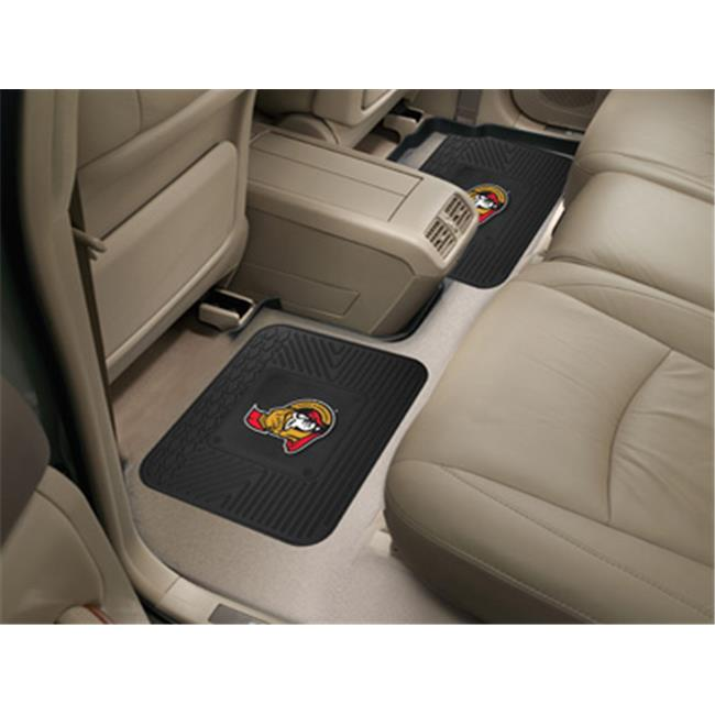 FANMATS 12400 NHL - Ottawa Senators Backseat Utility Mats 2 Pack