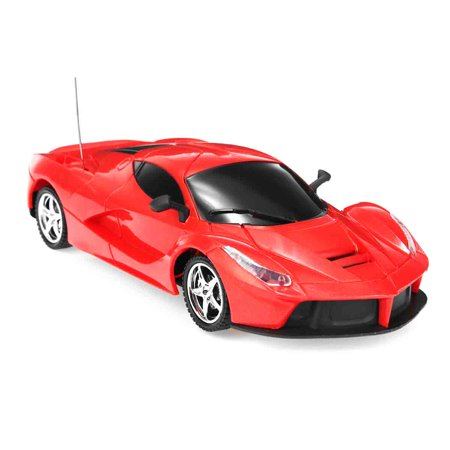 1:24 Toy Scale Lamborghini Radio Remote Control Model Car for Kids Adults (Red) Hobby - Hobbies For Adults