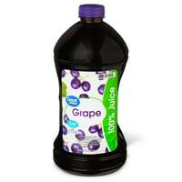 Great Value Grape 100% Juice, 96 fl oz