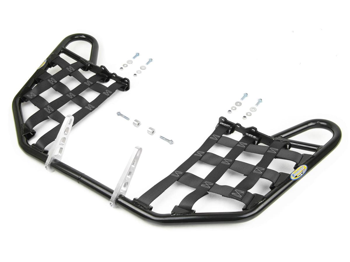 1999-2014 Propeg Nerf Bars Black Bars w//Green Net TRX 400EX SPORTRAX Honda Compatible