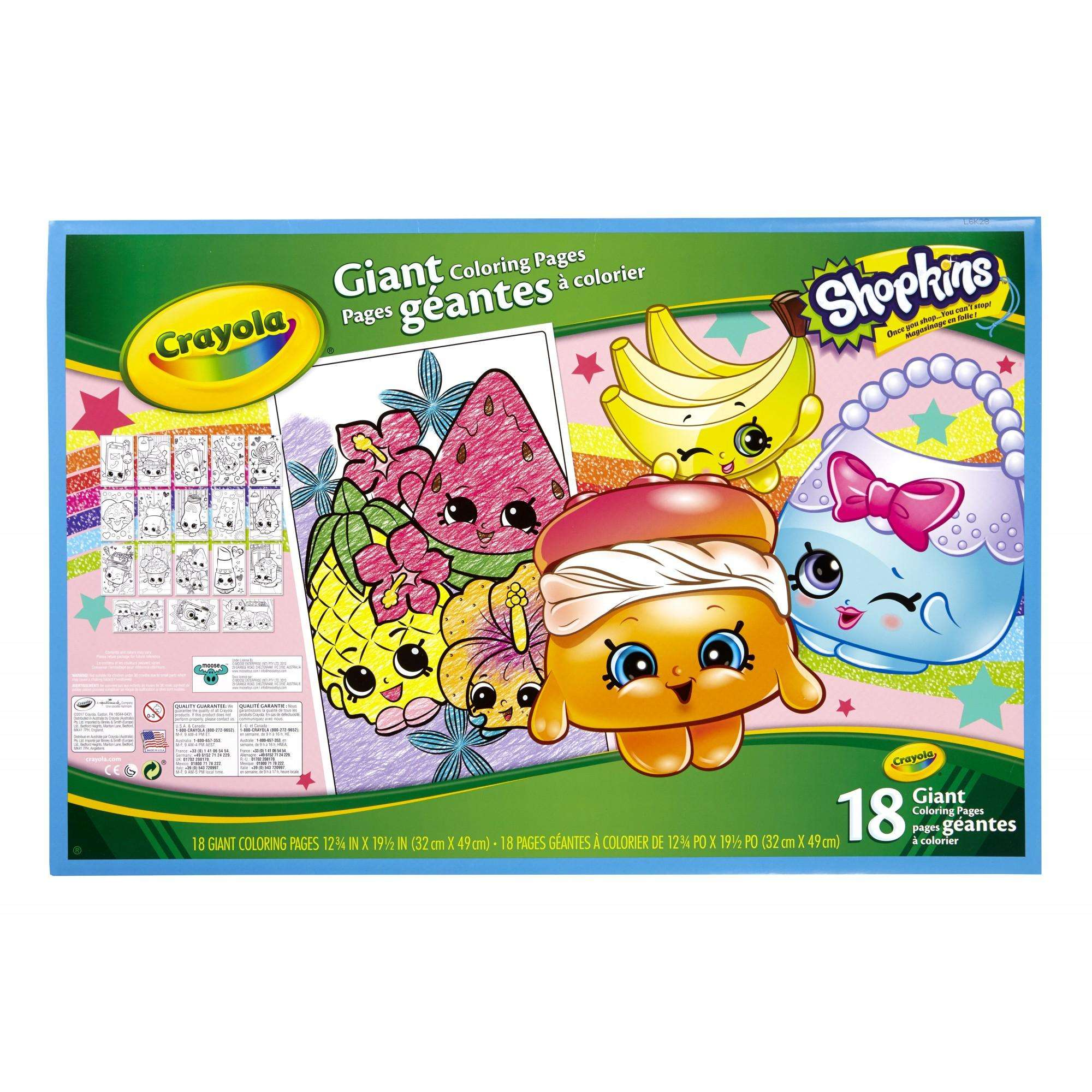 86 Crayola Coloring Pages Shopkins