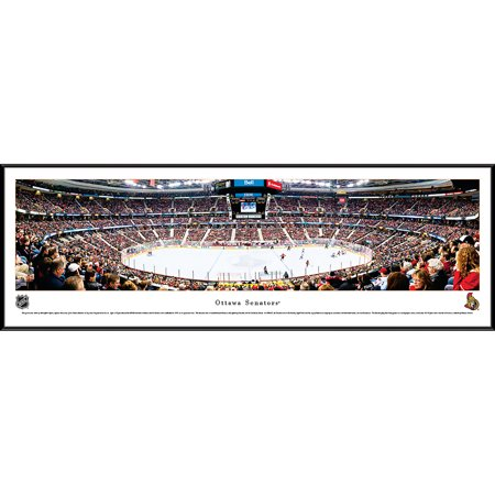 Ottawa Senators - Center Ice at Canadian Tire Centre - Blakeway Panoramas NHL Print with Standard -