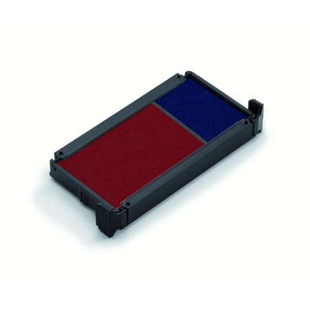 Replacement Pad for Trodat 4912 Self Inking Stamp - Blue/Red Ink Color