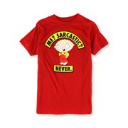 Family Guy Mens Me? Sarcastic? Graphic T-Shirt