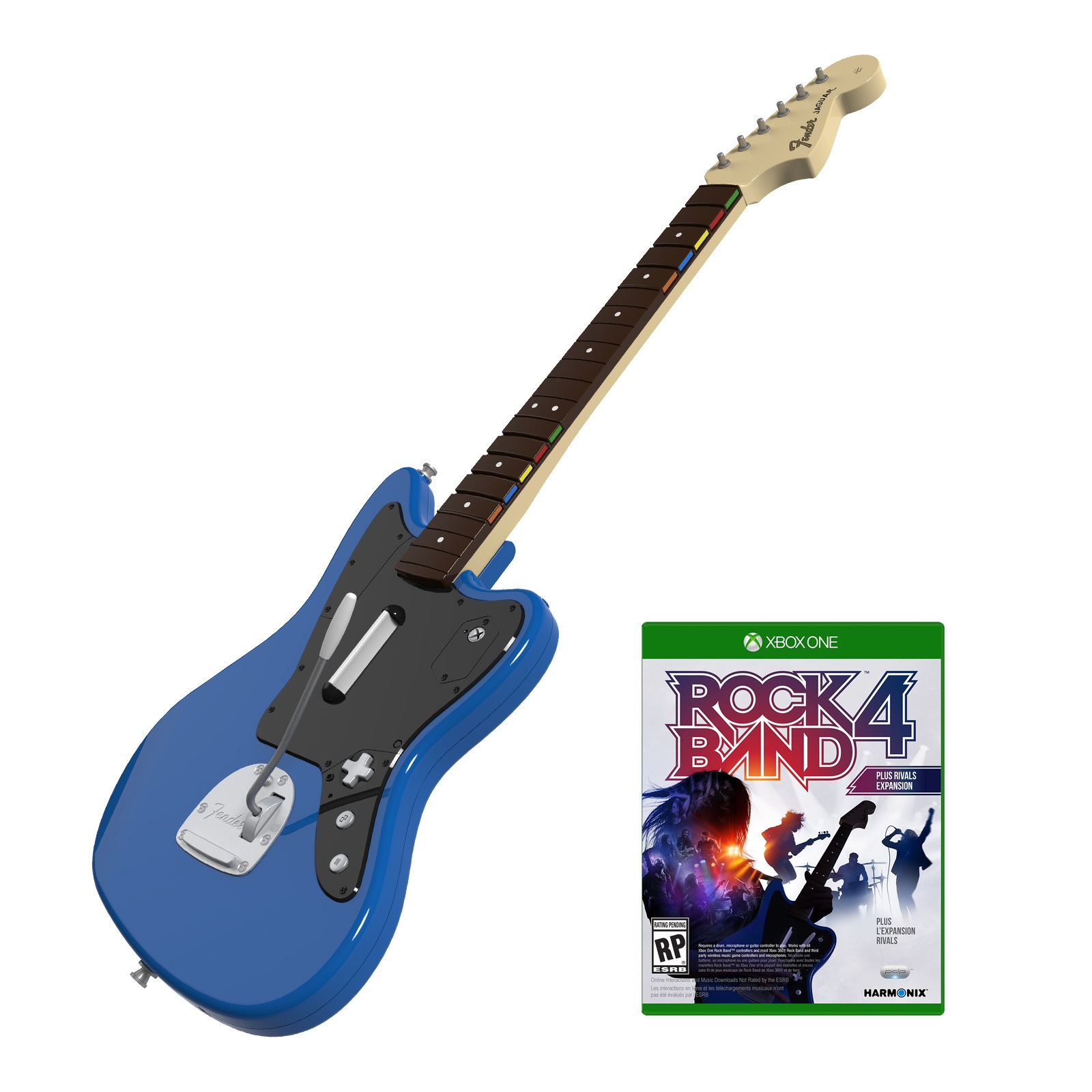 Xbox 360 Rock Band Official Wireless Guitar