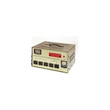 VCT AR10000 Heavy Duty 10,000 Watt Voltage Regulator / Stabilzer with Built-in Voltage Transformer for AC 110V / 220V / 240V