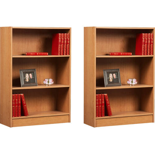 Orion 3-Shelf Bookcase, Set of 2, (Mix and Match)