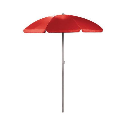"Picnic Time 5.5 Portable Beach Umbrella 81.25"" x 5.5"" by Picnic Time"