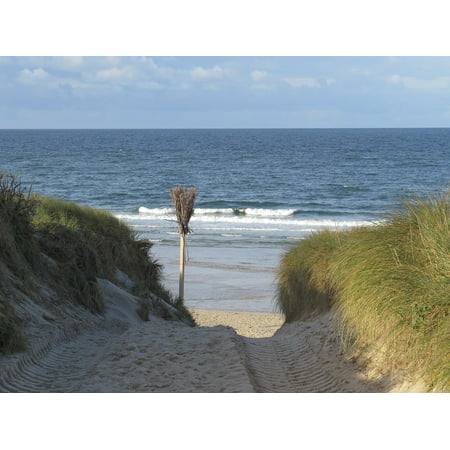 LAMINATED POSTER Island North Sea Transition Sylt Beach Poster Print 24 x 36 - Vbs Posters
