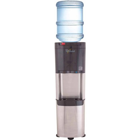 Whirlpool Stainless Steel Top-Load Water Dispenser Water (Water Cooler Cart)