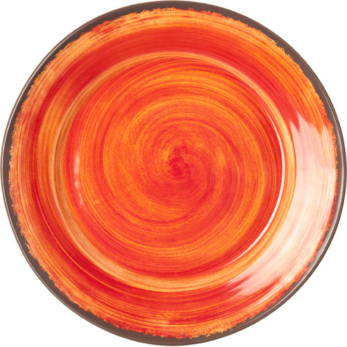 Carlisle Food Service Products Mingle 12.5'' Round Charger Plate (Set of 12)