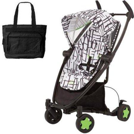 d43c46b6d66e Quinny CV262KBW Zapp Xtra Folding Seat Stroller with diaper bag - Kenson -  Walmart.com