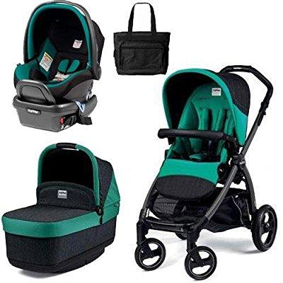Peg-Perego book pop up travel system - aquamarine