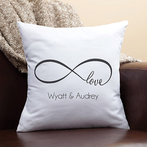 Personalized Throw Pillow - Our Love