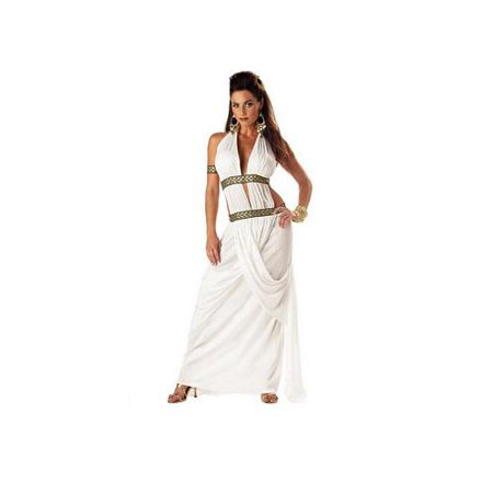 California Costume Collections Spartan Queen Costume 01068CAL White (Spartan Queen Gorgo)