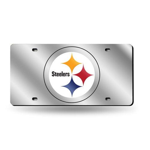 NFL Pittsburgh Steelers Laser-Cut License Plate