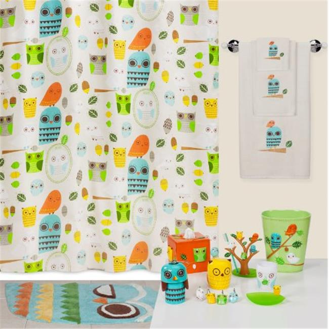 Creative Bath TP1070HMULT Give A Hoot Printed Hand Towel