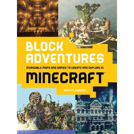 Block Adventures : Incredible Maps and Games to Create and Explore in Minecraft - Halloween Map Minecraft Pe
