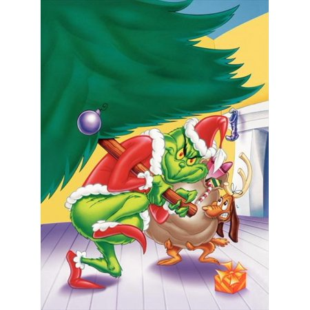 Grinch Poster (How the Grinch Stole Christmas Movie Poster Print (27 x)