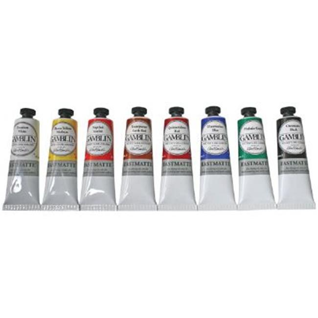 Gamblin GF1810 Artists Grade Oil Color 37ml Titanium White