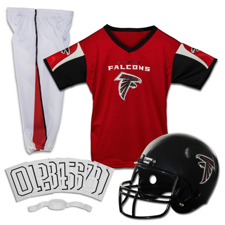 Falcons Jersey (Franklin Sports NFL Atlanta Falcons Youth Licensed Deluxe Uniform Set,)