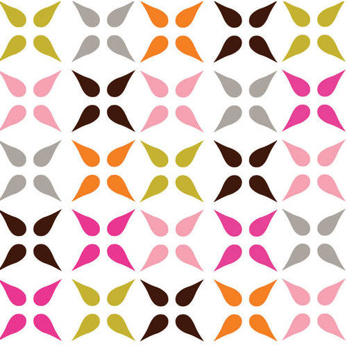 100% Cotton Fabric For Quilting And Crafting By Emma And Mila From The Hot Coco Collection: Geo In Multi