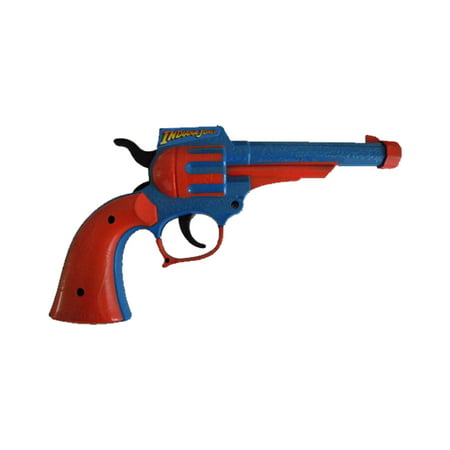 - Indiana Jones Plastic Toy Gun Movie Costume Prop Gift Accessory Official