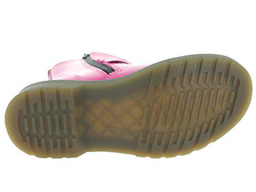 Dr. Kid),Hot Martens Lydia Boot (Toddler/Little Kid),Hot Dr. Pink,US 4/UK 3 a456ef