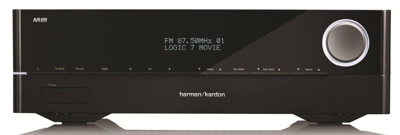 Harman Kardon AVR 1510 5.1-Channel 75-Watt Networked Audio Video Receiver by Harman Kardon