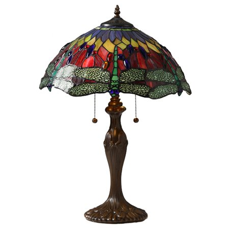 Tiffany Style Dragonfly Table Lamp Dragonfly Tiffany Style Table