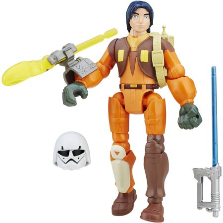 Star Wars Hero Mashers Rebels Ezra Bridger Deluxe Figure (Star Wars Rebels Ezra)