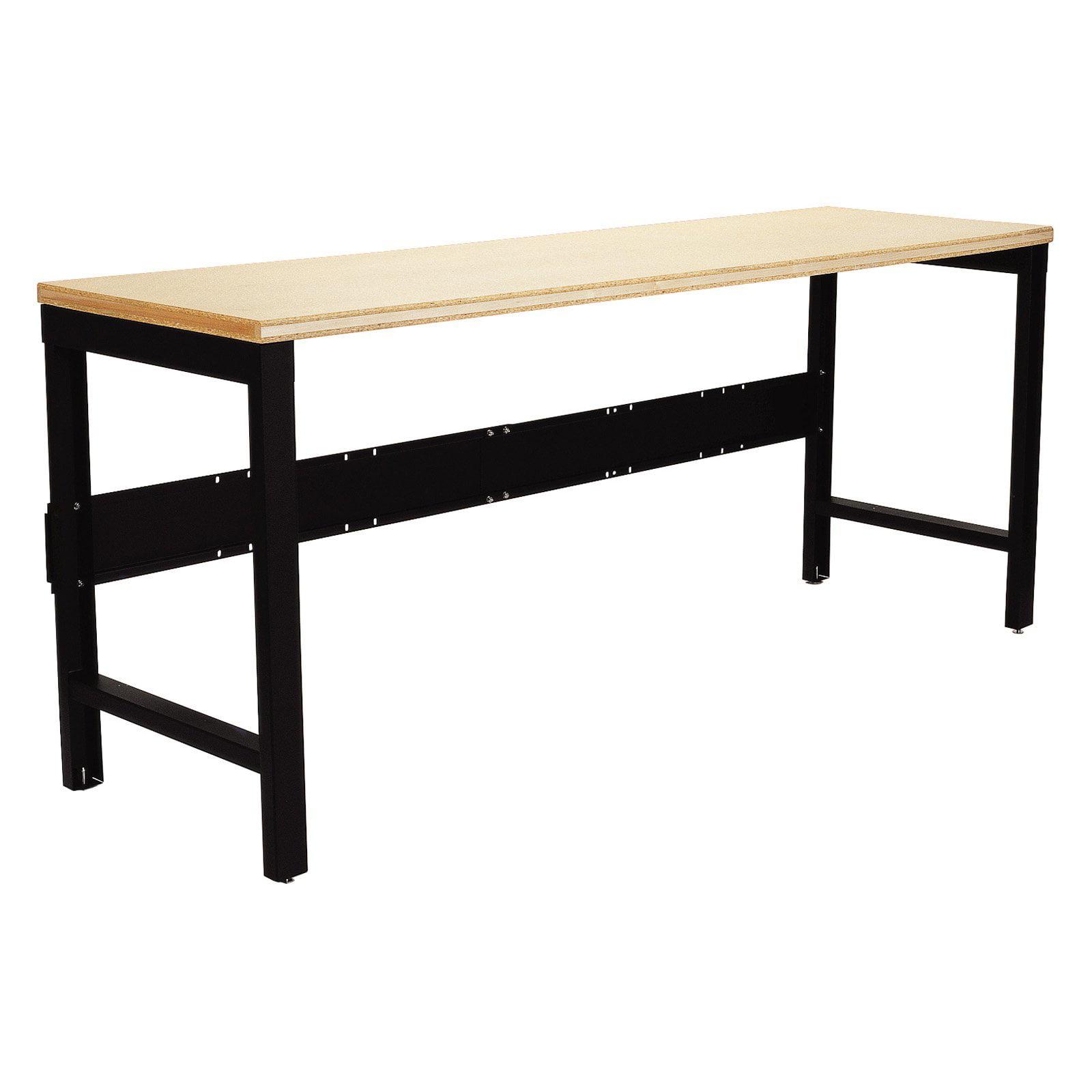 Edsal Steel Workbench with Wood Top