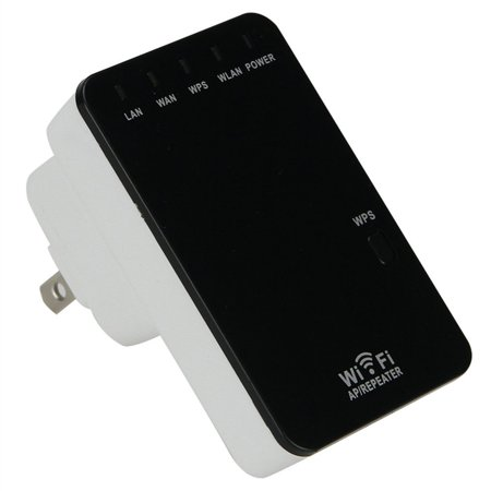 - FrontTech  Wifi Signal Repeater Booster Wireless Cordless N G Network 300mbps