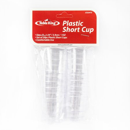 Plastic Bar Glasses Wholesale (New 350755  Table King Plastic Shot Glass 20 Pcs 1 Oz Clear (24-Pack) Tumblers Cheap Wholesale Discount Bulk Plasticware Tumblers)