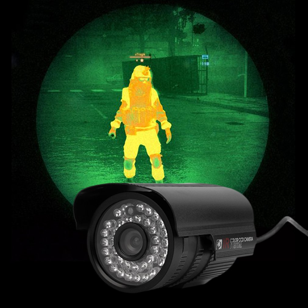 1200TVL 36 LED Night Vision Waterproof 6mm Outdoor Waterproof CCTV Camera Infrared HD Digital Security Surveillance Camera
