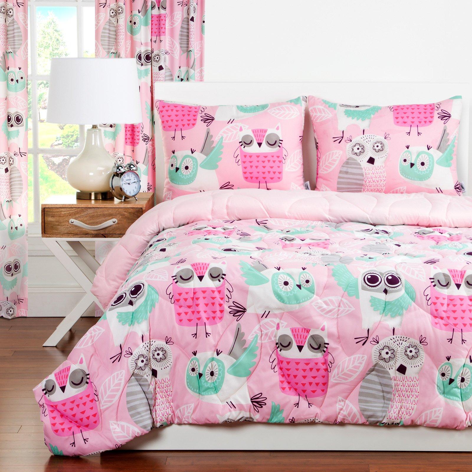 Crayola Night Owl Twin Comforter Set