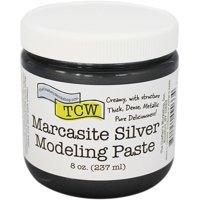 Crafter's Workshop Modeling Paste 8oz-Marcasite Silver