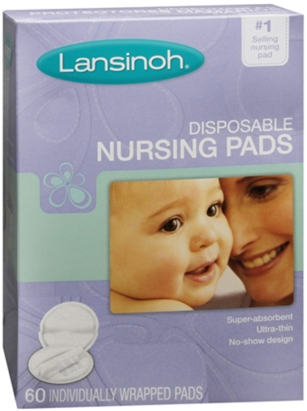Click here to buy Lansinoh Nursing Pads Disposable 60 Each (Pack of 3) by Lansinoh.