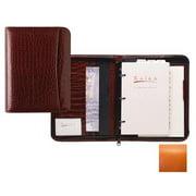 Raika RO 204 ORANGE 3 Ring Zipper Agenda - Orange