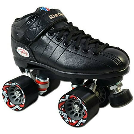 Riedell Carrera Speed Skates (Riedell R3 Black Quad Speed Skates )
