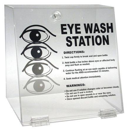 Brady Eye Wash Station, Clear PD996E
