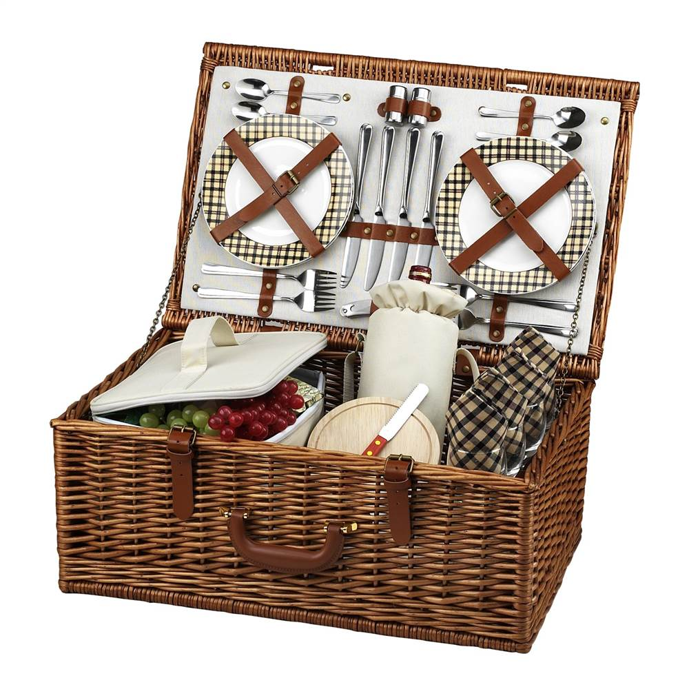 Dorset Picnic Basket for Four by Picnic at Ascot